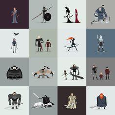 Art Prints by Jerry Liu Studio for Tiki Taka Tees