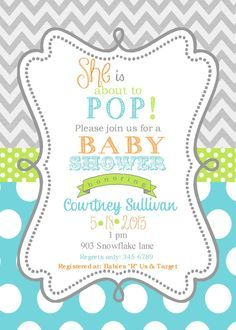 Ready to POP baby shower on Pinterest | Ready To Pop, About To Pop ...
