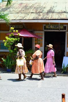 Ladies returning from church, Livingston