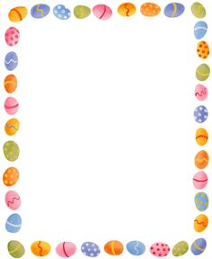 250 riscos para pintura em tecido de pascoa parte 5 Borders For Paper, Borders And Frames, Easter Photo Frames, Orla Infantil, Easter Egg Coloring Pages, Printable Border, Free Printable Stationery, Border Templates, Kids Background