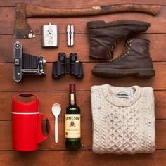 Basic kit for the average hiker/logger/photographer