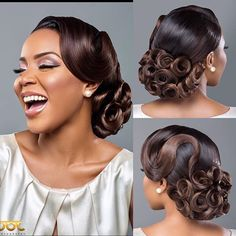 If you know me, you will know I love experimenting, adventure and anything that will make me think outside the box.. This is the 'bouquet' hairstyle, created when I was craving some roses ; styled on one of my fave girls @lolaoj  MUA: @parispurple_mua  Photo: @jotphotography  Would you wear this on your special day? ❤️ #CharisHairInLagos#CharisHairLiveDemoLagos#Abuja#Cameroon#December2016#BookYourSpace#LimitedSpaces  For Training/Bridal hair enquiries: ✨Email: info@mycharishair.com