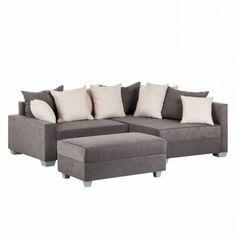 polsterecke primabelle luxus microfaser oder struktur struktur luxus und ottomane. Black Bedroom Furniture Sets. Home Design Ideas