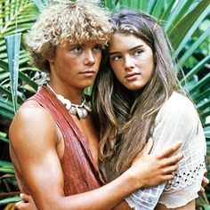 The Blue Lagoon--the forbidden movie that I would sneak to watch on cable.  :-) (LOVED all things Brooke Shields).