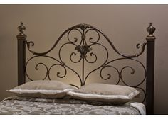 1648-mikelson-headboard-king-w-rails - Free Shipping!