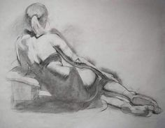 Andrea Ballestero Lounging Female Figure