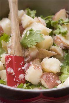 Potato, potata... salad? // Foie Gras Hot Dog - Potato, potata.