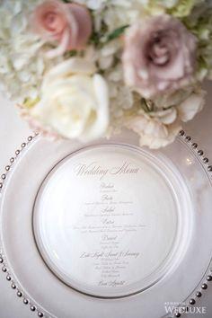 The bride wore Vera Wang at this Hazelton Manor wedding