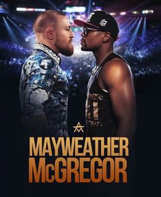 Conor McGregor vs Floyd Mayweather Jr. boxing fight promo poster: if you love #MMA, you'll love the #UFC & #MixedMartialArts inspired fashion at CageCult: http://cagecult.com/mma
