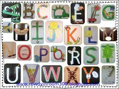 Awesome    A craft activity for each letter of the alphabet! Great visual for students when learning their letter
