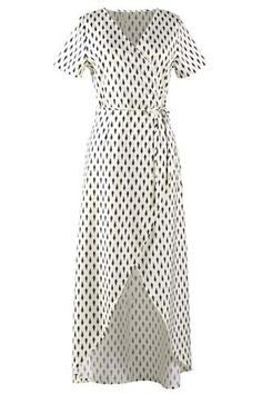 Cupshe Salty Seabreeze Printing Long Dress