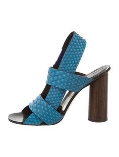 Proenza Schouler Embossed Leather Sandals w/ Tags