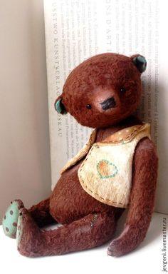 Мишки Тедди ручной работы: BROWN WONDER. Handmade.
