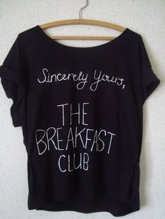 THE BREAKFAST CLUB SHIRT! I NEEEEEED THIS|| This shirt is essential to my health..