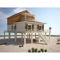 GreenTerraHomes is the leading provider of custom modern coastal homes, beach houses, beach cottages, and modern beach home designs. Our gulf coast steel frame coastal homes are a modern alternative to traditional stick-built homes. Beach Cottage Style, Cottage Style Homes, Coastal Cottage, Coastal Homes, Beach House Decor, Coastal Decor, Modern Coastal, Coastal Style, Coastal Living