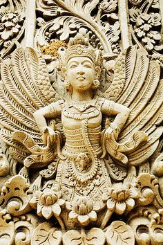 Statue at Pura Kahen, Bali, Indonesia