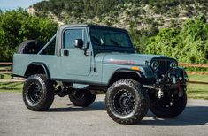 Bid for the chance to own a 1984 Jeep Scrambler at auction with Bring a Trailer, the home of the best vintage and classic cars online. Cj Jeep, Jeep Cars, Jeep Truck, Us Cars, Chevy Trucks, Jeep Wrangler, Dually Trucks, Big Trucks, Jeep Ika