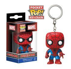 Funko Pocket Pop: Marvel - Spider-Man Keychain