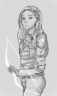 Noah Trevelyan - Archer Inquisitor sketch