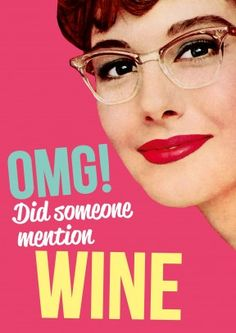 Did Someone Mention Wine | Mother's Day Card #funny #wine #mum #mom #mothersday