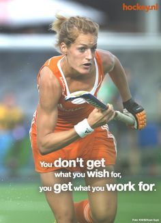Hockey- on the ice or on the field-work for it