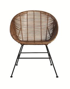 Awesome Retro rattan dining chair from House Doctor. Combine this chair with your favorite House Doctor furniture. Rattan Dining Chairs, Rattan Furniture, Furniture Decor, Outdoor Chairs, Retro Furniture, Lounge Chairs, House Doctor, Retro Lounge, Retro Chairs