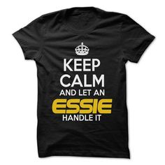 Keep Calm And Let ... ESSIE Handle It - Awesome Keep Ca - #polo t shirts #cool shirt. LIMITED TIME  => https://www.sunfrog.com/Hunting/Keep-Calm-And-Let-ESSIE-Handle-It--Awesome-Keep-Calm-Shirt-.html?id=60505