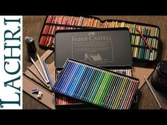 Prismacolor Vs Faber Castell Polychromos colored pencils w/ Lachri - YouTube - excellent! Must See if you work with colored pencils!