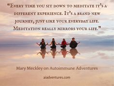 Mary Meckley and I discuss the many benefits of meditation for chronic illness and autoimmune disease on Autoimmune Adventures. Power Of Meditation, Meditation Benefits, Healing Meditation, Autoimmune Disease, Chronic Illness, Like You, Mary, Adventure, Life