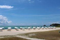 美しく広がる真っ青な海。 穏やかな気分にさせてくれます。 それではみなさん、良い週末を(^o^)