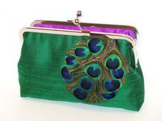 Strut that peacock clutch.