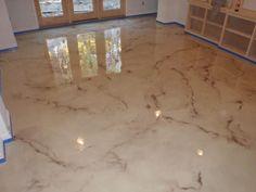 Decorative Concrete Polishing Cleveland, Pittsburgh | Epoxy - Concrete Staining