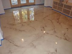Decorative Concrete Polishing Cleveland, Pittsburgh | Epoxy - Concrete Staining