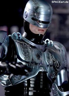 Robocop: Robocop mit Docking Station - Deluxe DieCast, Fertig-Modell, http://spaceart.de/produkte/rc003.php