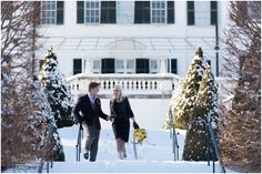 Winter Wedding Styled Shoot at the Mount - Berkshire MA - Tricia McCormack Photography