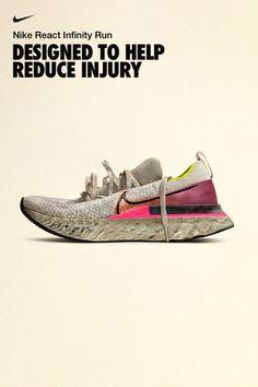 React Infinity Run Flyknit Mens Running Shoe Best Running Shoes, Girls Sneakers, Nike, Running Women, Cute Shoes, Designer Shoes, Christian Louboutin, Infinity, My Style