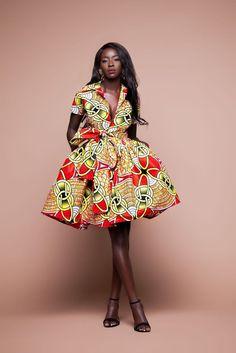 1dac3132c1 76 Best African Print Midi Dresses