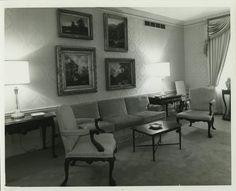 Waldorf-Astoria  Pres. Suite 1960's