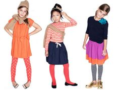 Crewcuts girls colorful outfits
