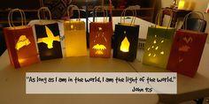Easy Breezy Sunday School: Christmas Lanterns