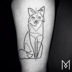 one line tattoo mo ganji 541
