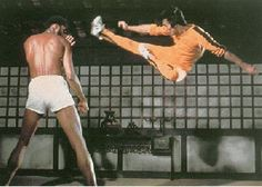 Bruce Lee Vs Kareem Abdul Jabbar in Game of Death