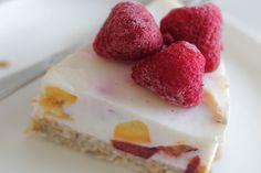 gezonde yoghurt taart recept, healthy yoghurt taart de bakparade