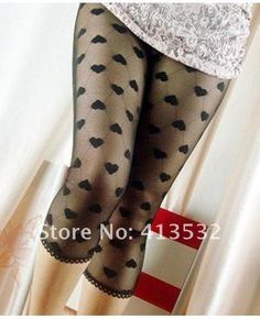 Aliexpress.com : Buy Capri Sweetheart Pattern Net Black Legging For Women 56339 from Reliable Leggings suppliers on DealFellow Limited