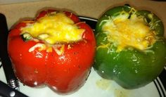 17 Day Diet Gal: Southwestern Stuffed Bell Peppers (C1)