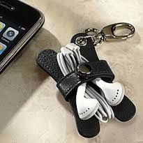 leather earbud holder - Google Search