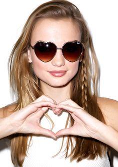 2765a2441a8e Quay Eyeware Hearts Sunglasses