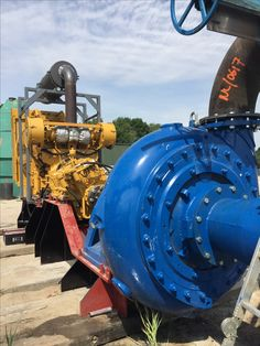 Boosterset With a Warman pump and cat engine for sale
