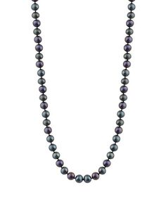 Another great find on #zulily! Black Pearl Necklace #zulilyfinds