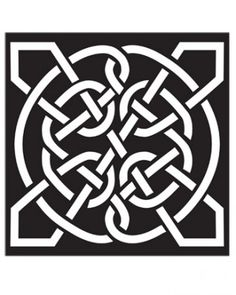 """See the """"Celtic Knots"""" in our Halloween Pumpkin-Carving Patterns and Pumpkin Templates gallery"""